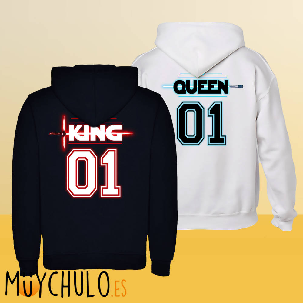Sudaderas STAR WARS KING & QUEEN