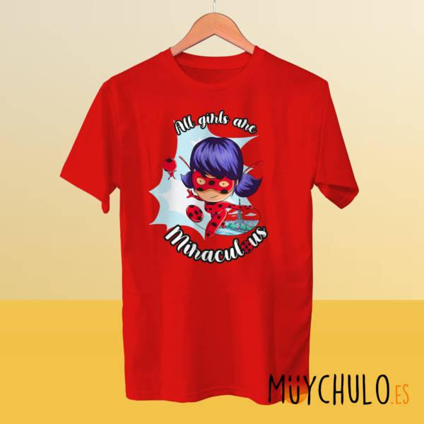 Camiseta manga corta LADYBUG