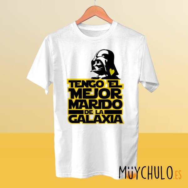 Camiseta Tengo el mejor marido de la galaxia