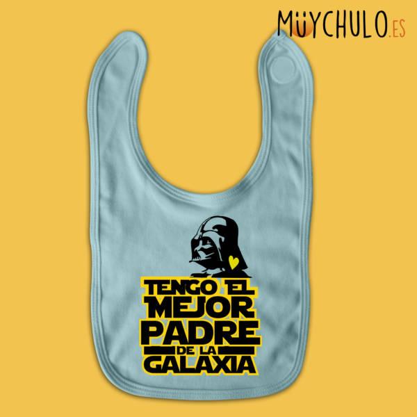 Babero tengo el mejor padre de la galaxia