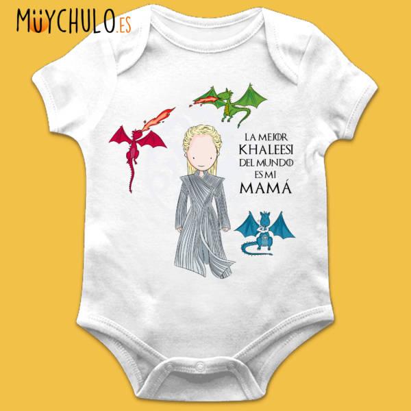 Body manga corta Mamá Khaleesi