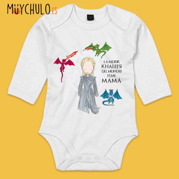 Body manga larga Mamá Khaleesi
