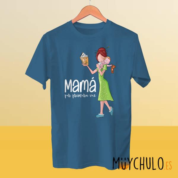 Camiseta Mamá por primera vez