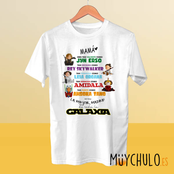 Camiseta Star Wars DIA DE LA MADRE