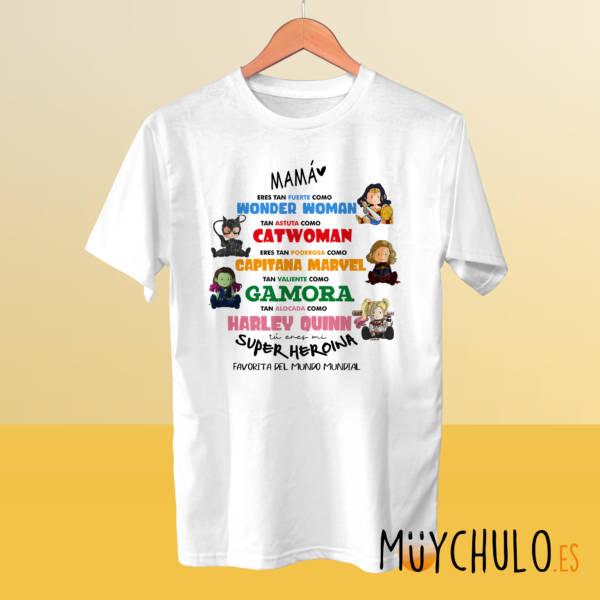 Camiseta Miniheroinas DIA DE LA MADRE Vengadoras