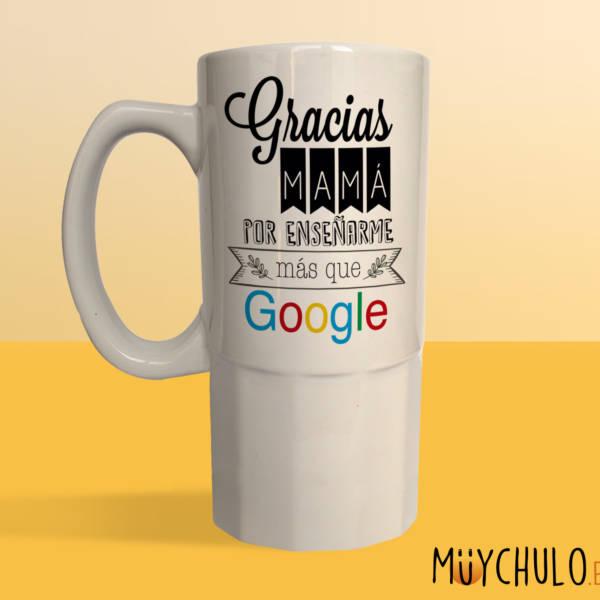 Jarra Gracias mamá por enseñarme más que Google