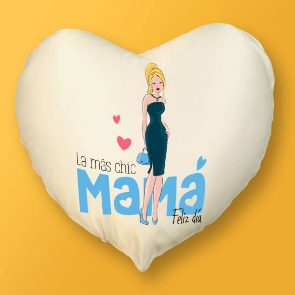 Cojín Corazón Mamá Chic