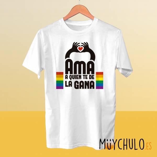 Camiseta Ama a quien te de la gana