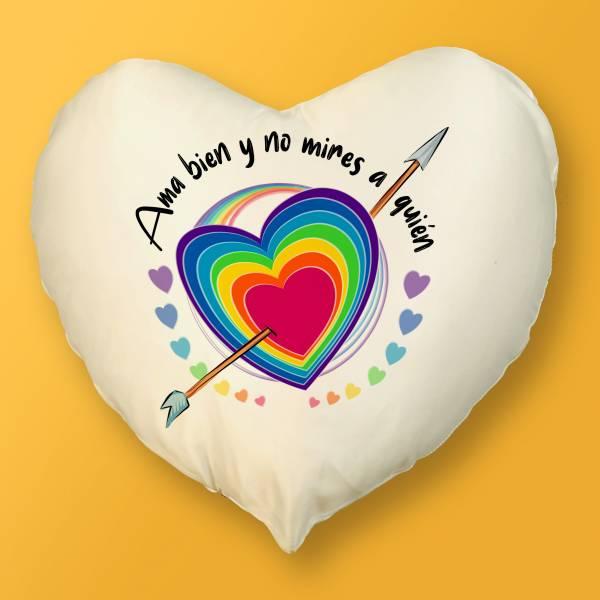 Cojines Corazón LGBTIQ+