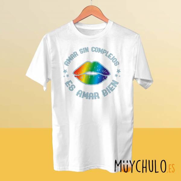 Camiseta Amar sin complejos es amar bien
