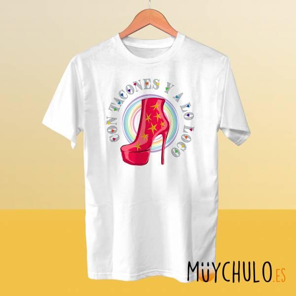 Camiseta Con TACONES y a lo loco