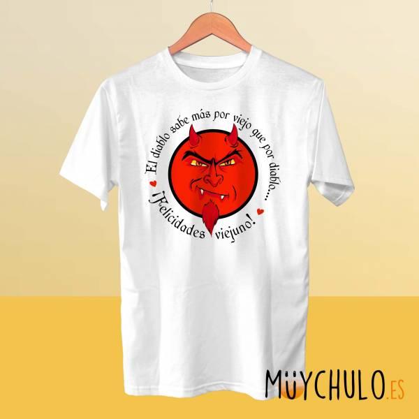 Camiseta El diablo sabe mas por viejo que por diablo