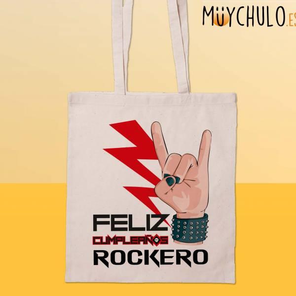 Bolsa Feliz cumpleaños ROCKERO