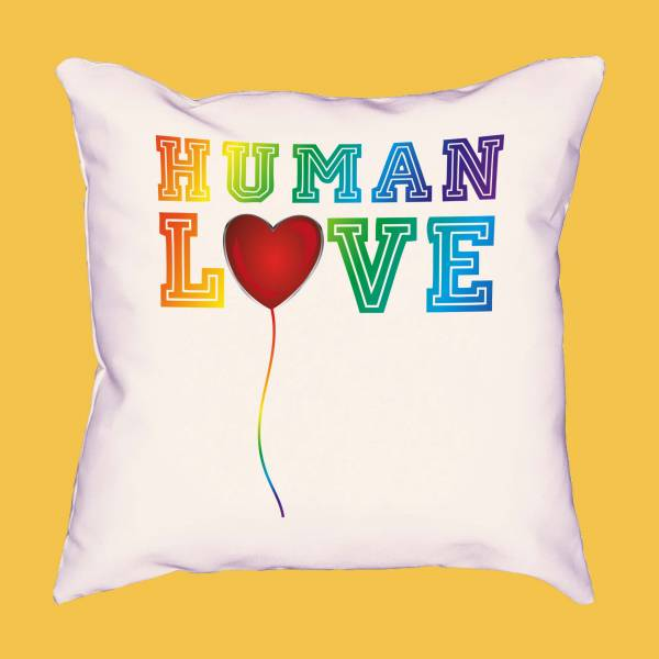 Cojín Human Love