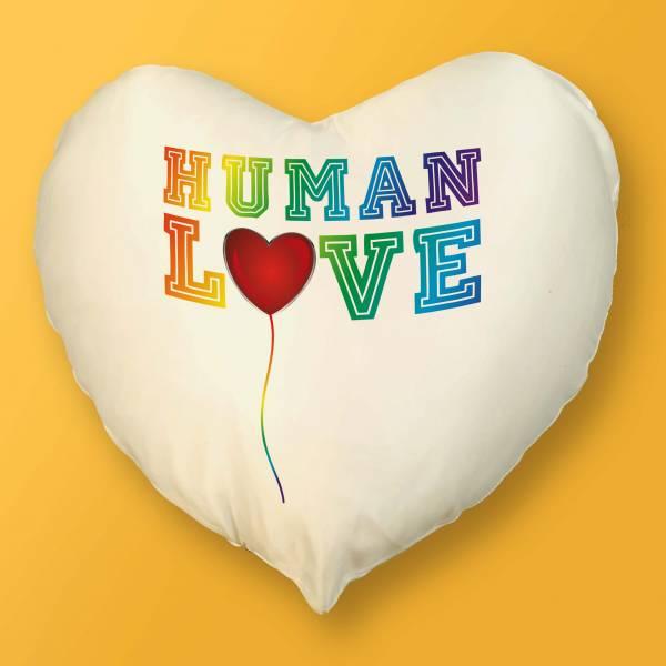 Cojín Corazón Human Love