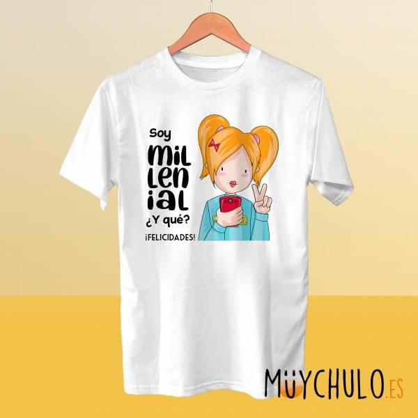 Camiseta MILLENIAL chica