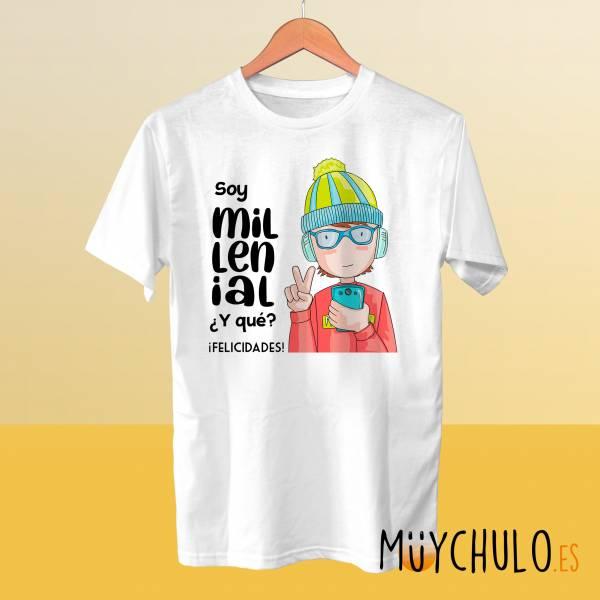 Camiseta MILLENIAL chico