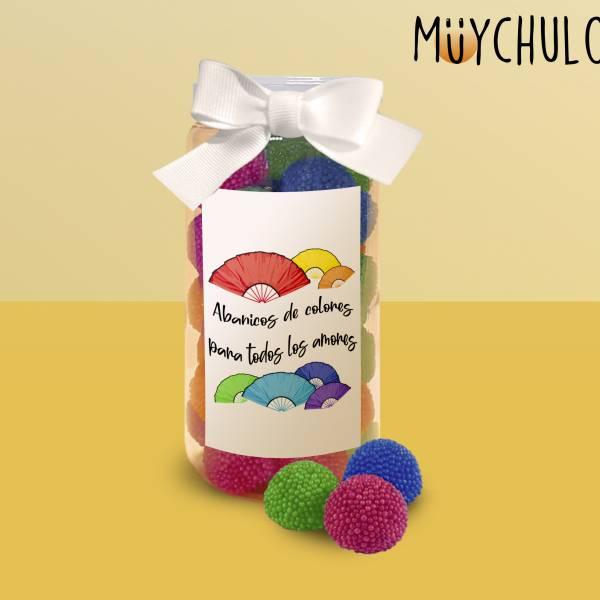 Chuches Abanicos de colores
