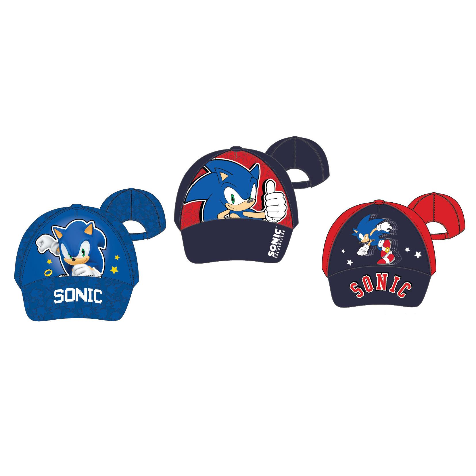 Muy Chulo Gorras Sonic Infantiles