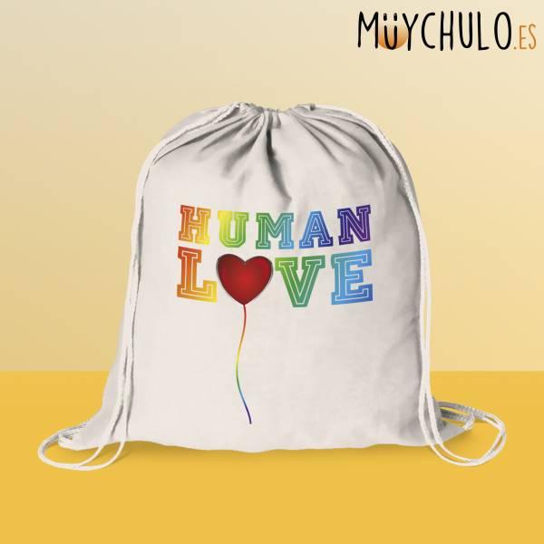 Mochila de cuerdas Human Love