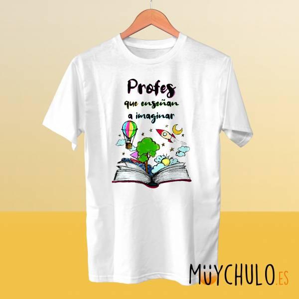 Camiseta Profes que enseñan a imaginar