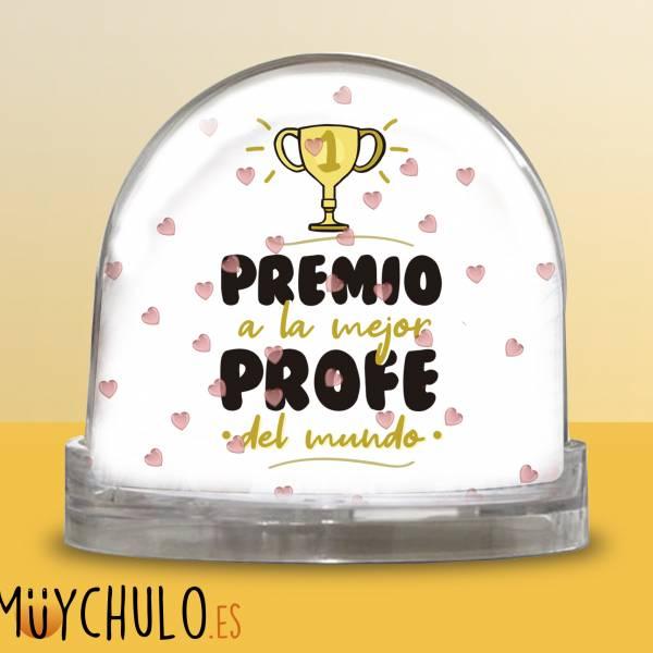 Bola Premio a la mejor profe del mundo