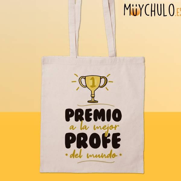 Bolsa Premio a la mejor profe del mundo