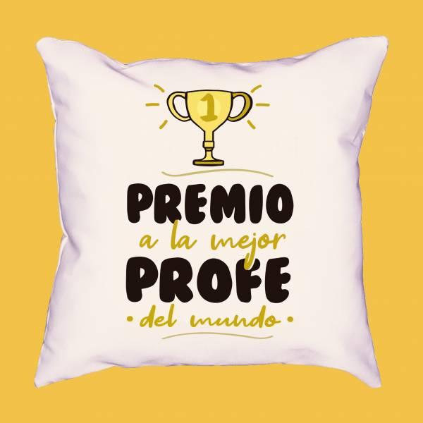 Cojín Premio a la mejor profe del mundo