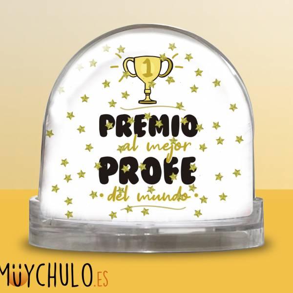 Bola Premio al mejor profe del mundo