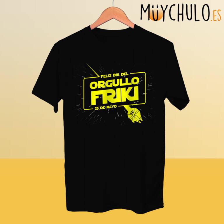 Camiseta ORGULLO FRIKI