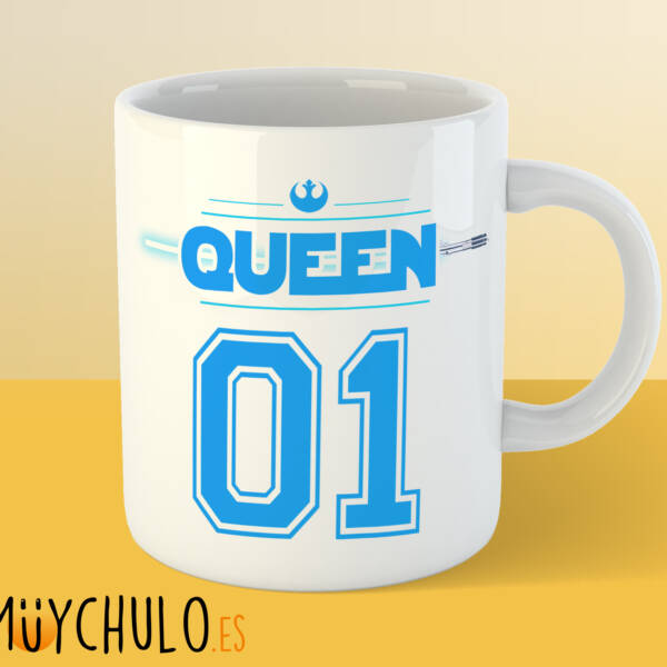 Taza STAR WARS KING & QUEEN queen