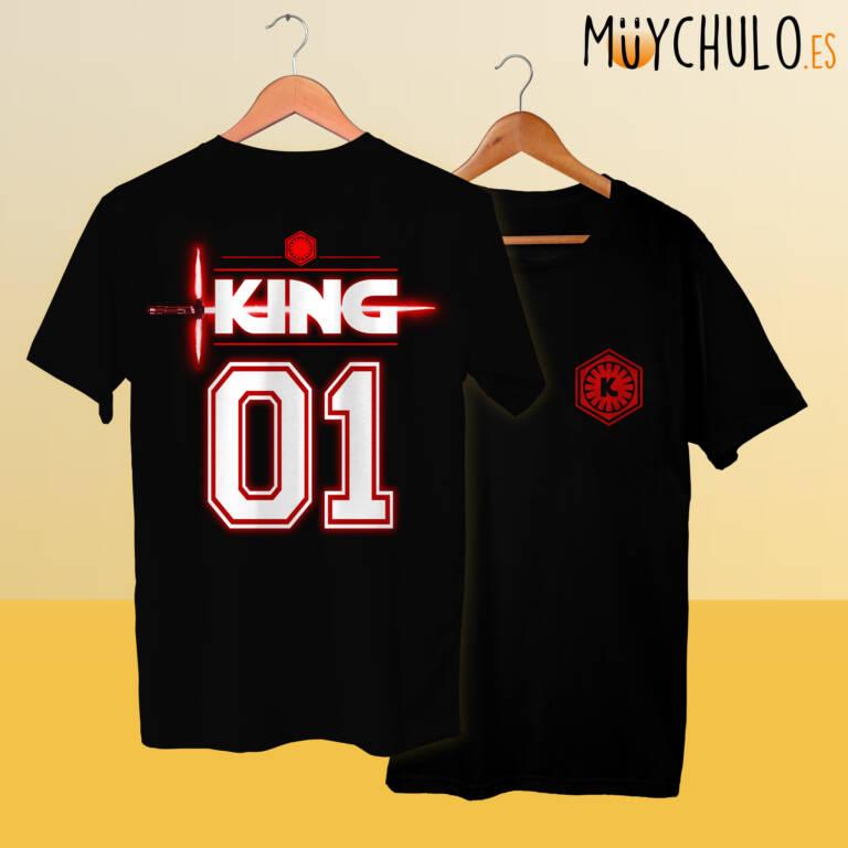 Camisetas STAR WARS KING & QUEEN Kylo Ren