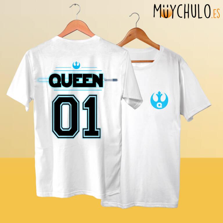 Camisetas STAR WARS KING & QUEEN Rey
