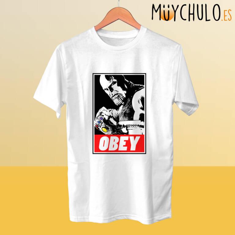 Camiseta THANOS Obey