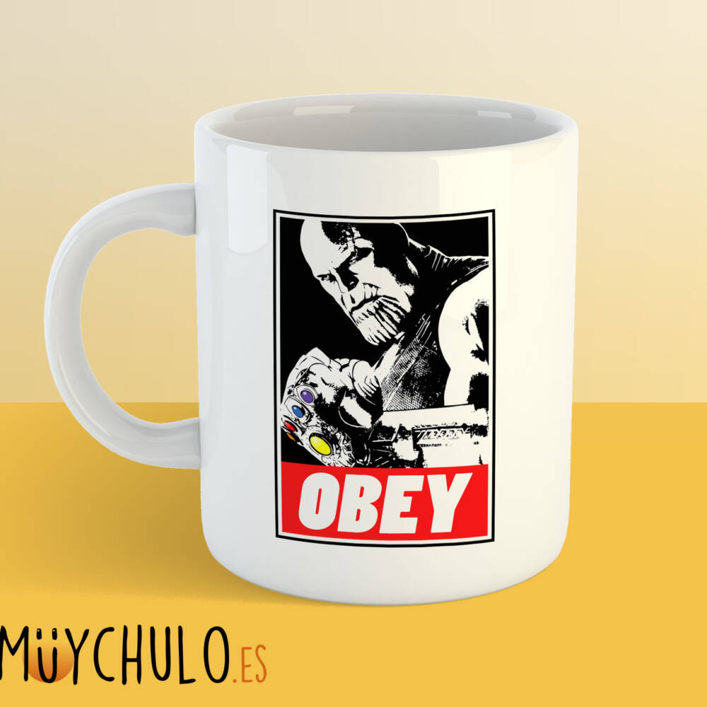 Taza THANOS Obey
