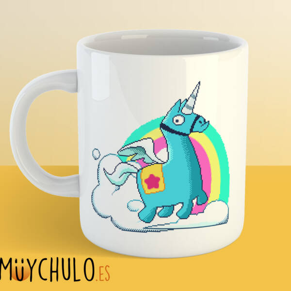 Taza Unicornio FORTNITE