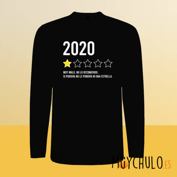 Camiseta manga larga 2020