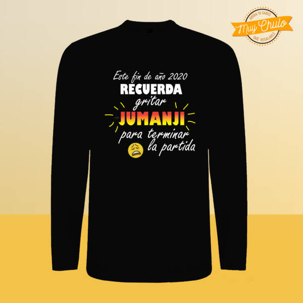 Camiseta manga larga JUMANJI