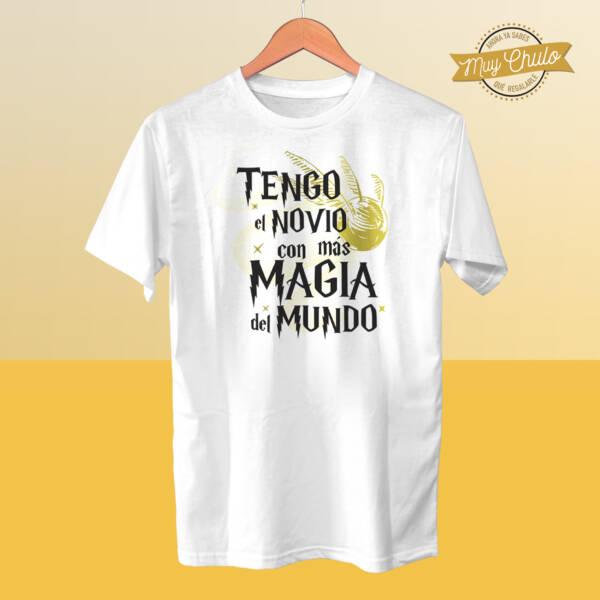Camiseta Tengo el novio con más magia del mundo