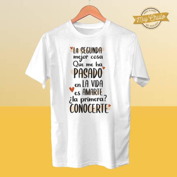 Camiseta La segunda mejor cosa