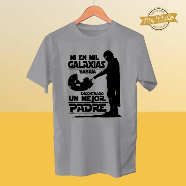 Camiseta Ni en Mil Galaxias habría encontrado un mejor Padre Mandalorian