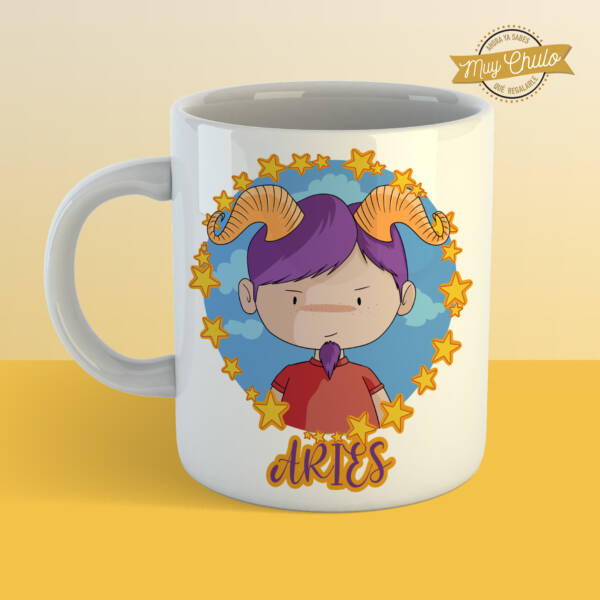 Taza Horóscopo Aries chico
