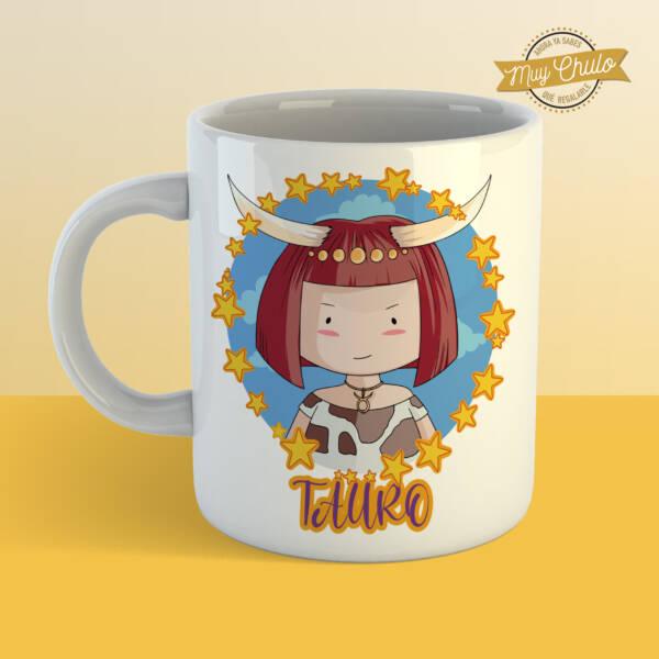 Taza Horóscopo Tauro chica