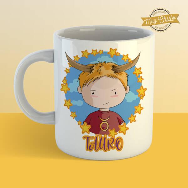 Taza Horóscopo Tauro chico
