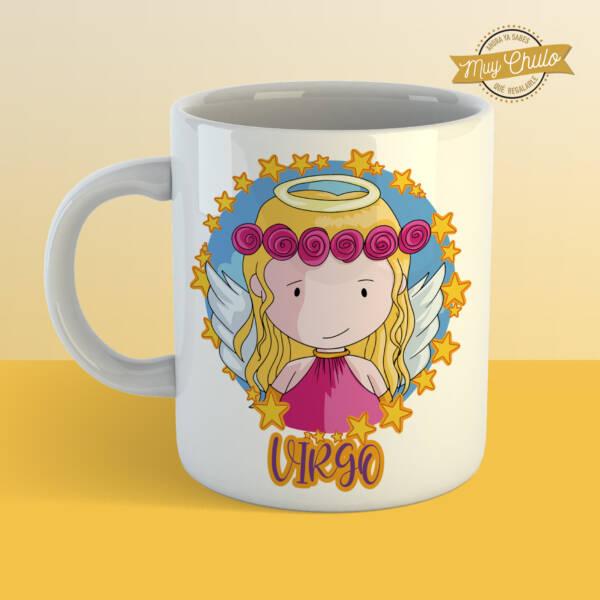 Taza Horóscopo Virgo chica