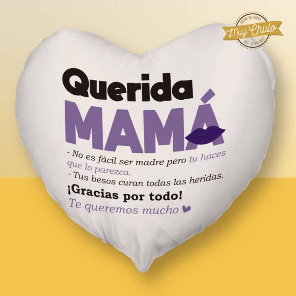 Cojín Corazón Querida Mamá
