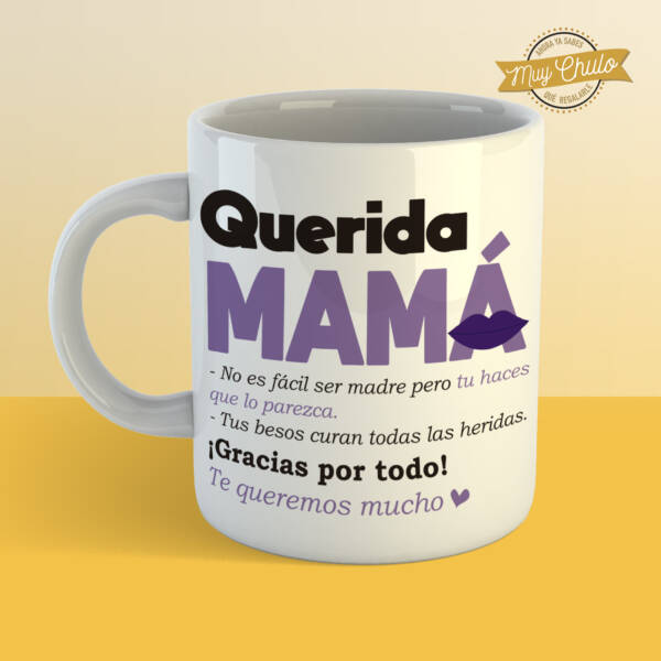 Taza Querida Mamá
